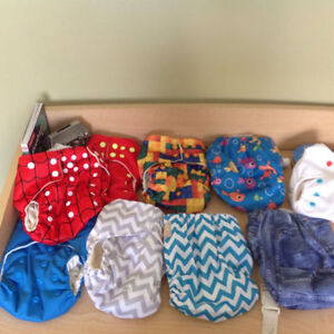 Cloth diapers NEVER used