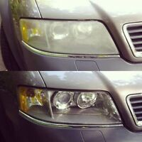 Headlight restoration for $40 both headlights!