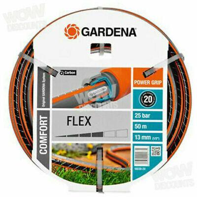 Gardena 18039-20 Comfort Flex Hose, Multi-Colour, 13 mm (1/2 Inch), 50m