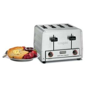 Waring WCT825B Heavy Duty Commercial Bagel Toaster - 208V