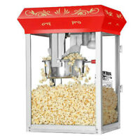 *****BRAND NEW 8 OUNCE RED STYLE POPCORN MACHINE*****