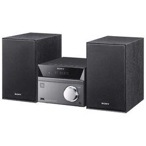 SONY MINI CD HIFI STEREO SYSTEM WITH BLUETOOTH- mnx
