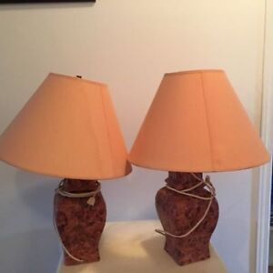 Two side nice lamps