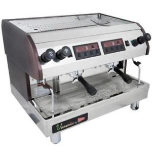Cecilware ESP2-220V Venezia II Two Group Espresso Machine 240V *RESTAURANT EQUIPMENT PARTS SMALLWARES HOODS & MORE*