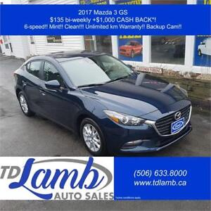 2017 Mazda 3 GS