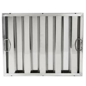 "16"" x 20"" x 2"" Stainless Steel Hood Filter *RESTAURANT EQUIPMENT PARTS SMALLWARES HOODS AND MORE*"