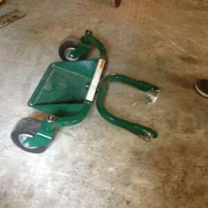 Commercial Mower Sulky Riding Attachment