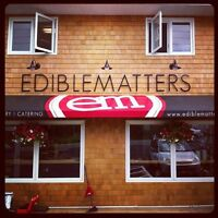 Edible Matters seeks Fantastic Dishwasher