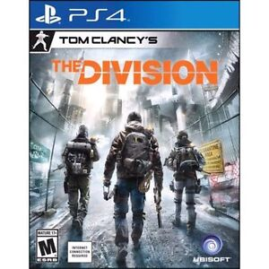 The Division - Playstation 4 (PS4) for sale