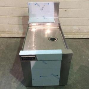 Bassin, lavabo d'égouttement encastrable pour bar ou cuisine TSD12