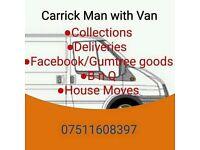 Carrick man with van
