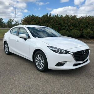 2018 Mazda 3 BN5278 Touring SKYACTIV-Drive White 6 Speed Sports Automatic Sedan Garbutt Townsville City Preview