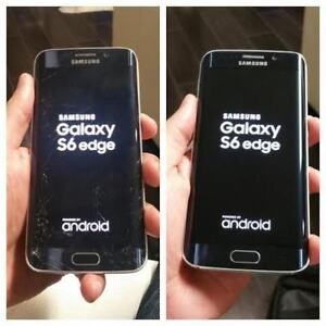 *Samsung Galaxy S3 S4 S5 S6/EDGE S7 Cracked Screen/LCD Repair*