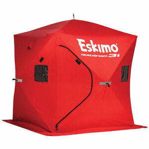 Ice Fishing shelter (Eskimo Quickfish 3i) new condition