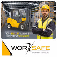 Forklift Training -> New Operator - Renewals or Onsite + JOBS