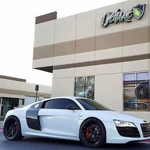 Mags Audi R8 LAMBROGHINI 20x9 20x11 Staggered STANCE SF03 GLOSS BLACK
