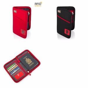 Heys RFID Blocking Passport Travel Wallet Organiser Holiday  You
