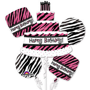 OH SO FABULOUS BIRTHDAY BALLOON BOUQUET SALE FREE DELIVERY Belleville Belleville Area image 1