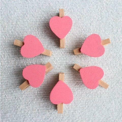 Wooden Heart Pegs Home Furniture Diy Ebay