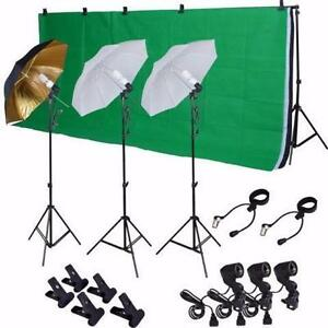 23 PIECES SUPER BIG KIT PHOTOSTUDIO FOR ONLY 249$ APPELER 514-298-3109