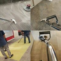 Floor Care Maintenance - Strip and Wax - Carpet Cleaning