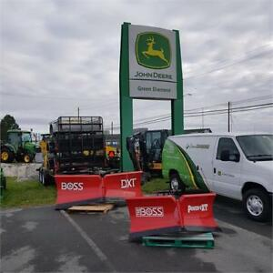 GREEN DIAMOND EQUIPMENT BOSS SNOWPLOWS