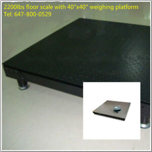 1000kg floor weighing scale with steel platform ON SALE