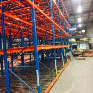 Used racking - Shelving - Rayonnage industriel City of Montréal Greater Montréal Preview