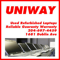 UNIWAY WINNIPEG Refurbished Laptop Starting From $150