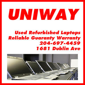 UNIWAY WINNIPEG USED REFURBISHED LAPTOP STARTING FROM $99