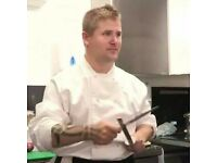 Swedish chef looking for job