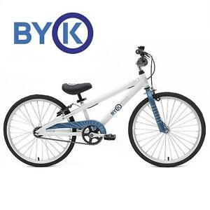 NEW BYK KID'S 20 INCH BIKE KID'S BIKE - 20 INCH BICYCLE FOR BOYS AND GIRLS - BLUE/WHITE 104157320