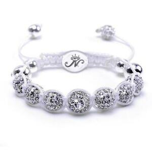 50% OFF All Jewellery - The Kikiballa | Silver WhiteBracelet