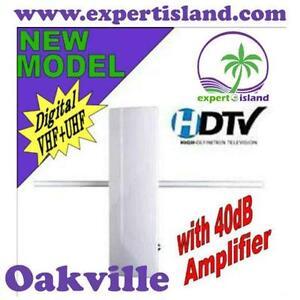 Eaglestar Pro #53-6165VA Digital Indoor/Outdoor HDTV TV Antenna with Built-in Amplifier easy to install