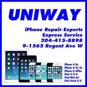 UNIWAY REGENT iPad iPod Touch Screen Repairs Starting from $45