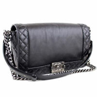 chanel leboy handbag pre owned condition 9 sur 10
