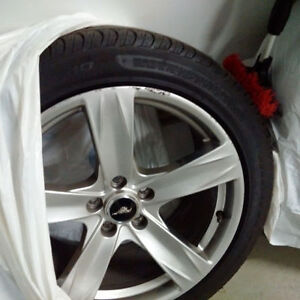 Ford Mustang 2013 original Tired and Rims , GREAT DISCOUNT.