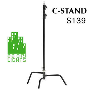 Classic C-Stand (black) with removable base for transport - NEW!