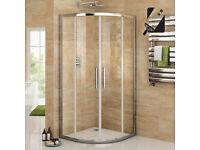 Shower Screen - Quadrant door