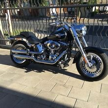 Harley-Davidson Fat Boy FLSTF 2014 ABS with $8000 worth of extras Tranmere Campbelltown Area Preview