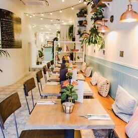 Waiter / Waitress needed for newly opened cafe in Farringdon, Clerkenwell
