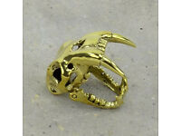 LOST: Saber Tooth Tiger Skull Ring