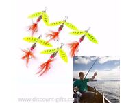 5PC Spinner Bait Lure