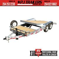 "2019 Galvanized 83"" x20'' 6 Ch.Equipment Tilt Trailer Winnipeg Manitoba Preview"