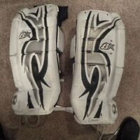 "Brians 27"" Junior Goalie Pads"