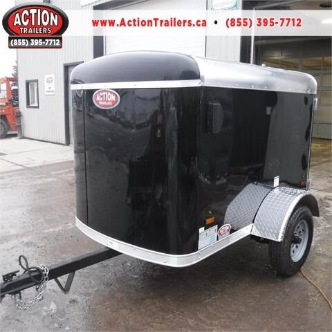Small Cargo Trailers >> Perfect Small Cargo Trailer 4x6 Haulin Steel With Barn Doors