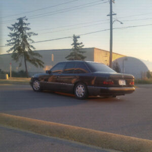 1992 W124 Mercedes 400E Low KM