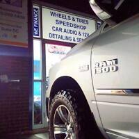 Accessories - Detailing - Tires - Performance - Audio FRANCHISE!