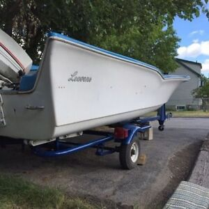 Leavens Brothers Boat w/ 50hp Johnson