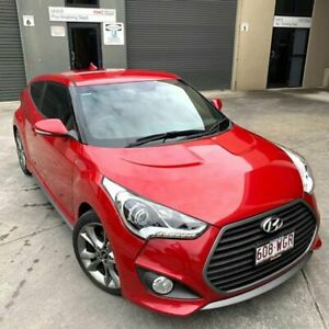2015 Hyundai Veloster Turbo Red 6 Speed Manual Hatchback Burleigh Heads Gold Coast South Preview